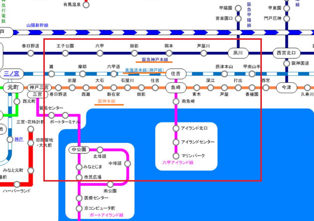 神戸市 路線
