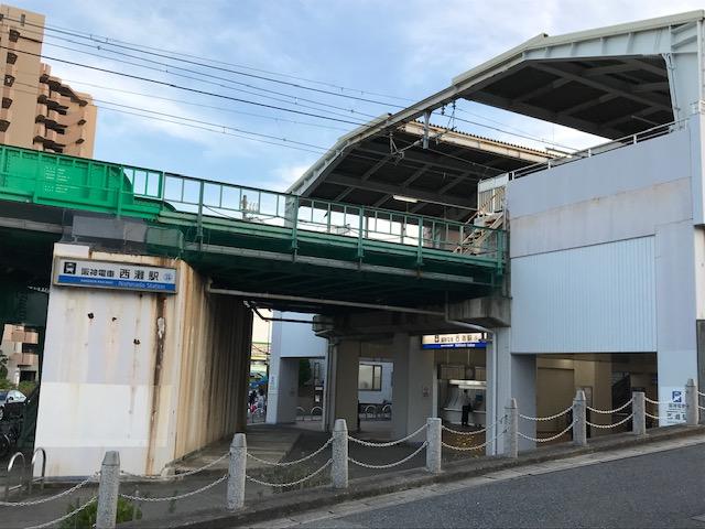 阪神西灘駅